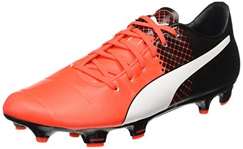 Puma Evopower 3.3 Tricks Fg - Chaussures de Football - Homme - Rouge (Red/Wht/Blk) - 41 EU (7.5 UK)