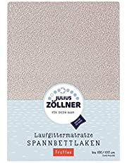Julius Zöllner 8390349540 frotte, pasuje do materacy 68 x 90 do 100 x 100 cm, kolor taupe