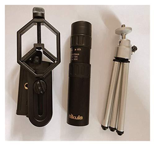 YYCH Telescope for Kids Binoculars Nikula 10-30x25Zoom Monocular Binoculars Hunting Optical Prism Range Without Tripod monocular Telescope (Color : Full Set)