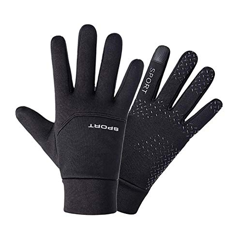 SharpointHome 1 Pair Football Gloves Boys Kids Waterproof Thermal Grip Outfield Field Player Sports Riding Thick Gloves