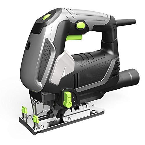 Mgcdd-Car Organizer Jigsaw 1080W Électrique Scie Sauteuse, 6 Vitesses, avec Laser Et Couteau Fonction De Levage - 45 ° Scie À Onglets