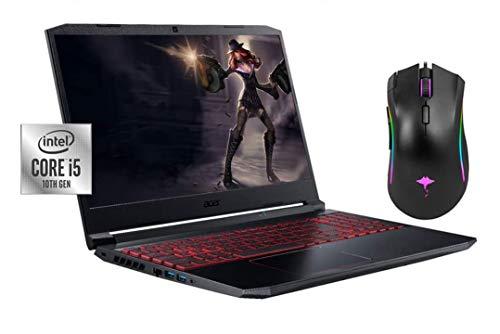 2020 Newest Acer Nitro 5 15.6' FHD Gaming Laptop, 10th Gen Core i5-10300H(Beat i7-8559U), NVIDIA GeForce GTX 1650 4GB, Backlit KB, 16GB RAM, 1TB SSD, Win10 w/GM Gaming Mouse