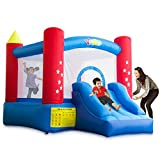 YARD Outdoor Indoor Bounce House Slide w/Heavy Duty Blower for Kids 6207 Extra Thick Material 420D Nylon Jump Castle