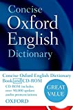 Concise Oxford English Dictionary - Book & CD-ROM set - OUP Oxford - 18/08/2011