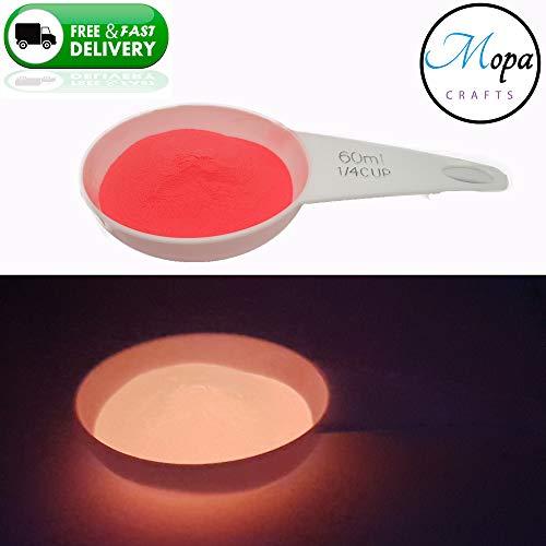Premium Neon Glow in the Dark Pigment poeder voor verf, nagel, kunst, ambacht, acryl 5g Pink Neon Glow
