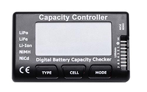 Arkai NEU - MIT Balancerfunktion Wieviel Batteriepower Habe ich noch? Lipo Life NiMh NiCd LiIon Checker
