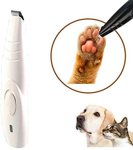 KEIBODETRD Hund Katze Clippers Geräuscharmes schnurloses Mini-Hundehaarpflegeset Trimmer für kleine Katzenhunde