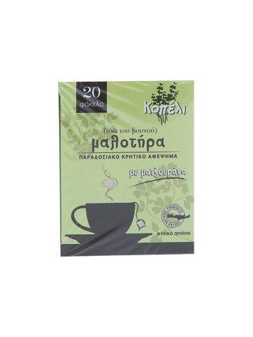 Malotira, Traditionelle kretische Berg Tee mit Majoran, Naturstoff, 20 Teebeutel