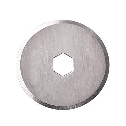 Cuchillas de repuesto de 18 mm, 10 unidades para cortador rotativo Olfa para Fiskars, Clover Sustitución de cuchillas para manualidades, acolchado, scrapbooking y costura
