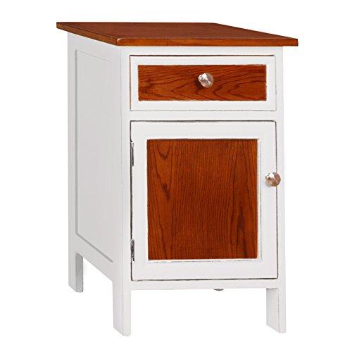 Porthos Home Tonality Designs Morrison Classic Side Table, White