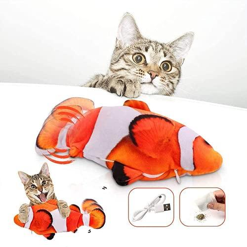 Niserelesa Red Cat Fish Toy