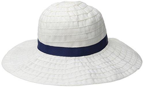 Gymboree Baby Grosgrain Hat, White, 6-12