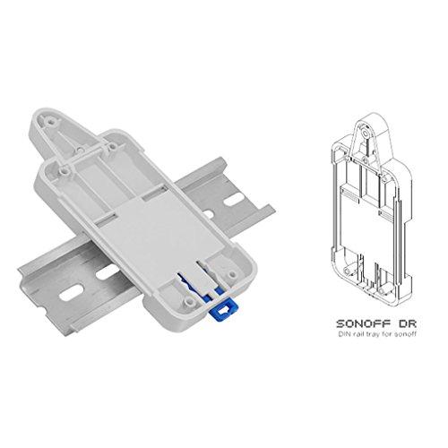 Masterein Sonoff DR Rail DIN Plateau Porte-Case Rail réglable monté sur Rack Solution pour Sonoff Produits