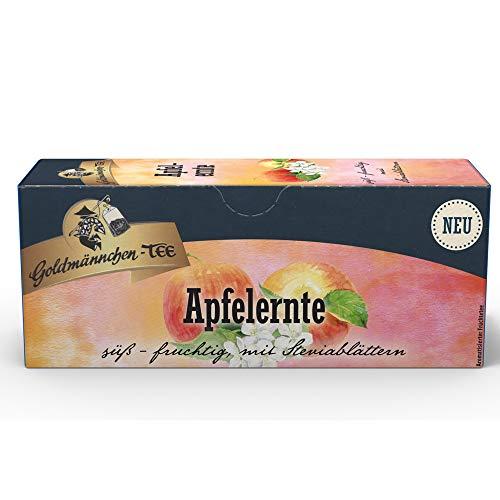 Apfelfrucht Tee Goldmännchen - nostalgische DDR Kultprodukte - Ossi Artikel