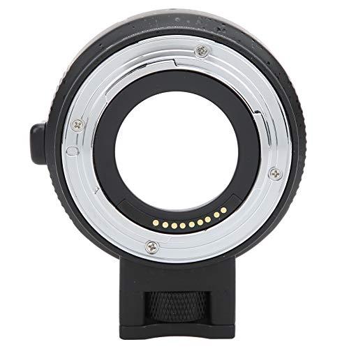 Pusokei Anillo Adaptador electrónico de Enfoque automático, convertidor de Lente de cámara, para Montura Canon EF/EF-S a cámara de Montura Canon EOS M