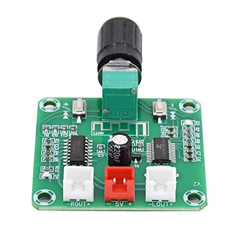 WNJ-TOOL, 1pc PAM8403 Bluetooth 5.0 Endverstärkerbrett 5W * 2 Zwei-Kanal-Stereo DIY drahtloser Lautsprecher Sound-Verstärker-Brett 5 V DC AMP