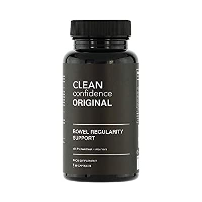 Clean Confidence Original Bowel Regularity Support - 60 Capsules - One Month Supply by ConfidentU