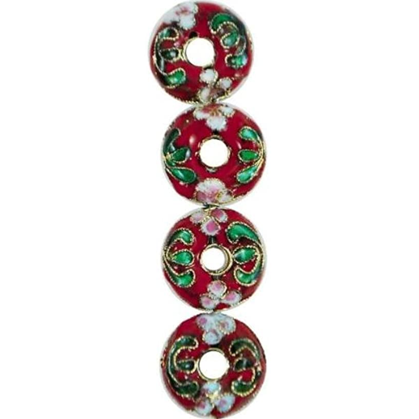 Expo BD51617 Cloisonne Donut Beads, 7-Pack