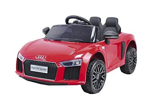 Motoor Kids Coche Eléctrico para Niños Audi R8 Rojo Spyder