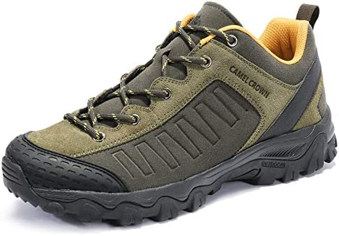 CAMEL CROWN Hiking Shoes Men Low Top Non Slip Sneakers for Outdoor Trailing Trekking Walking product image