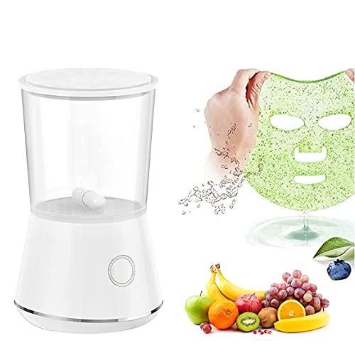 LYHD Máquina de máscara Facial Mini máquina de máscara de Cuidado Facial de Vegetales de Frutas máquina de máscara Natural portátil de Bricolaje sin batería tamaño