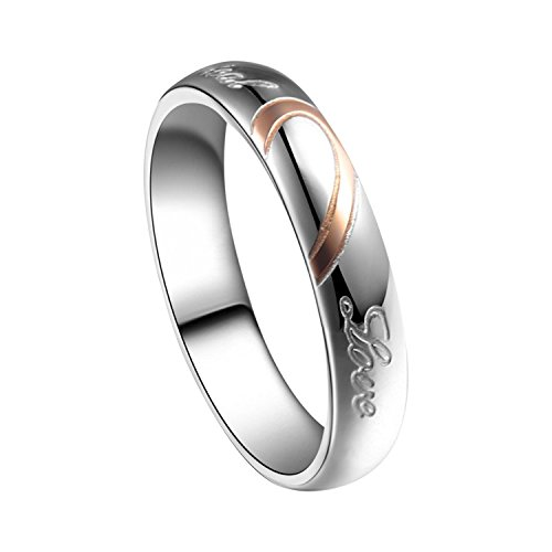 Fasherati acciaio INOX Real Love Rings for Girls