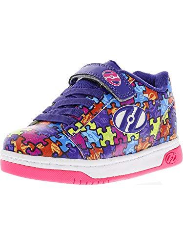 Heelys X2 Dual Up Puzzle Schuhe lila Mädchen Lila/Puzzle, 35