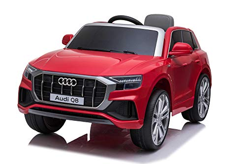 AUDI Q8 Licensed 12V Kids Electric Ride On Car with Remote Control LED Lights...