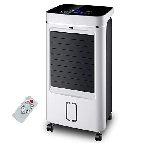 MAZHONG FANS Ventilador de aire silencioso casero frío solo teledirigido móvil de la fan del aire acondicionado