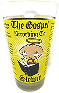 The Family Guy The Gospel According To Stewie Drinking Glass