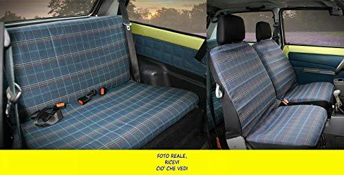 Coprisedili Fiat Panda 4X4 dal 1986 al 2003 fodere auto su misura tessuto originale