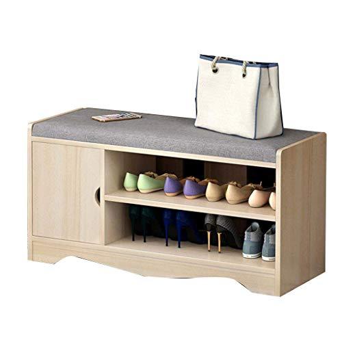 GUOCAO Mueble para zapatos para el hogar, simple y moderno, con diseño práctico de almacenamiento, transpirable, cómoda carga de 80 kg, tamaño: 80 cm de largo x 30 cm de ancho x 43 cm de alto.