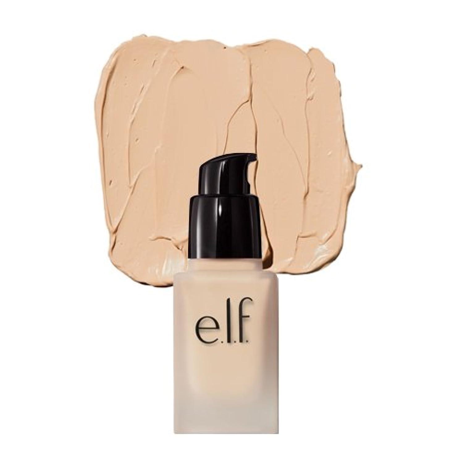 ふつう望ましい深さ(3 Pack) e.l.f. Oil Free Flawless Finish Foundation - Light Ivory (並行輸入品)