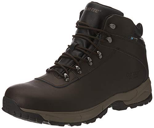 Hi-Tec Eurotrek Lite WP, Stivali da Escursionismo Alti Uomo, Marrone (Dark Chocolate 41), 49 EU