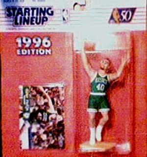 Dino Radja Action Figure - 1996 Edition Starting Lineup NBA Sports Superstar Collectible and Collector's Card