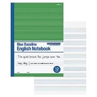 ブルーライン英語ノート 10段 146-739
