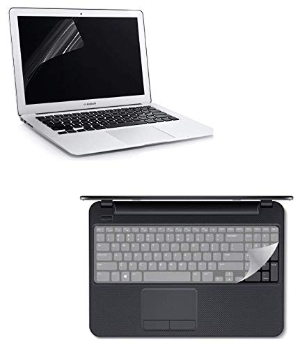 Fedus Combo of 15.6 inch Laptop Screen Guard and Key Guard Combo Set