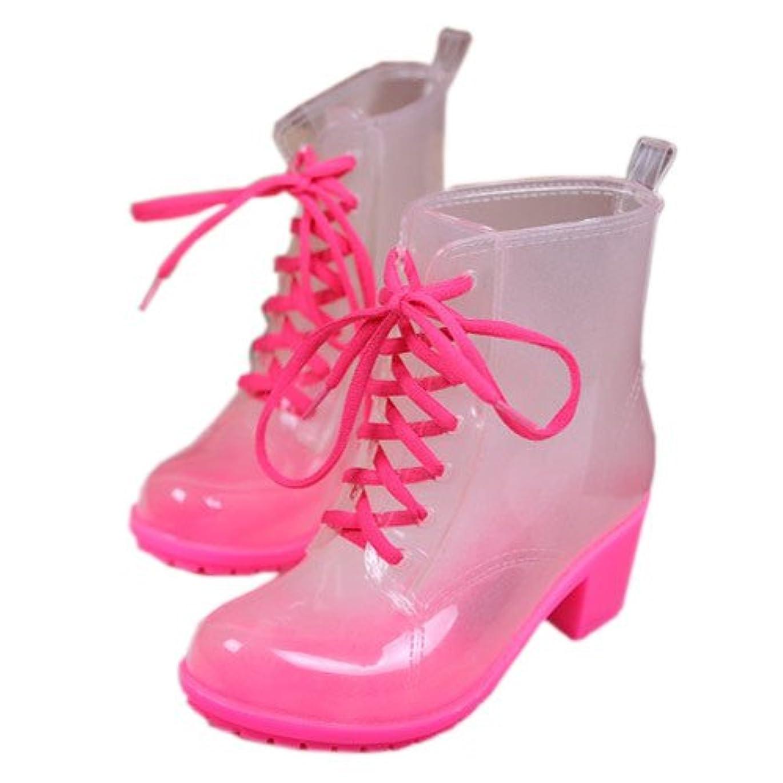 浸すホバーブラシ[テンカ]レインブーツ レディース ショート レインスニーカー 雨靴 マーティンブーツ おしゃれ シンプル 無地 快適 防水 防滑 歩きやすい 梅雨 全六色 通勤通学