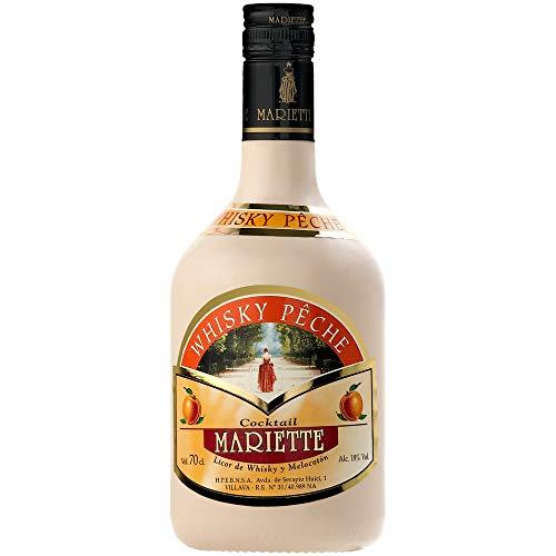 Whisky Peche Mariette 0,70L 18º (Pack de 6 Uds.)
