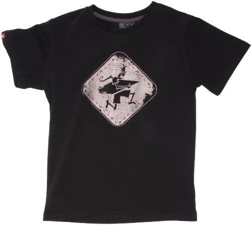 Sun Valley Junior Moka Tee-shirt manches courtes garçon Noir 14 ans