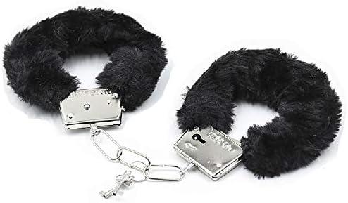 Fashionable Soft Plush Adjustable S xy c ff Keys Toy Police Costume Prop Black product image