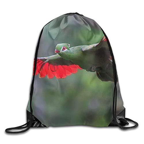 Jiger Water Repellent Gymbag Large Drawstring Backpack Maple Leaf Wreath Sackpack for Shopping Sport Yoga