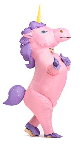 GOPRIME Inflatable Unicorn Costu...