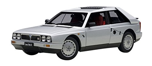 Autoart Aa74772 Modellino Auto Lancia Delta S4 Stradale 1985 Argento Scala 1:18