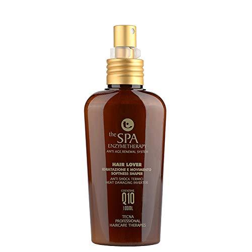 Tecna the spa enzymetherapy hair lover 100 ml crema spray idratante senza risciacquo per tutti i tipi di capelli con coenzima Q10 e olio d'argan 100ml