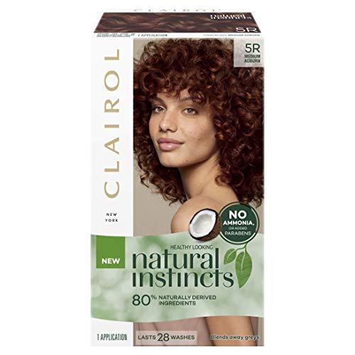 Clairol Natural Instincts Semi-Permanant Hair Colour, 5r Medium Auburn, 1 count