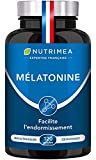 Mélatonine 100% Pure – Régulateur de l'horloge biologique – Sommeil...
