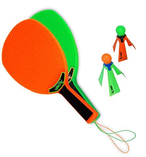 Helix Power Spin Play - Speed Badminton - Federball Set - Strand Ballspiel