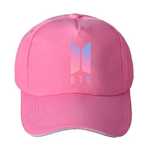 Cute critters Adjustable Baseball Cap Black Mens Women Hats BTS Printed Fashion Cap Hats (Pink)
