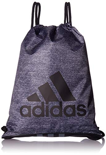 adidas Unisex Burst Sackpack, Onix Jersey/Black/Onix, ONE SIZE